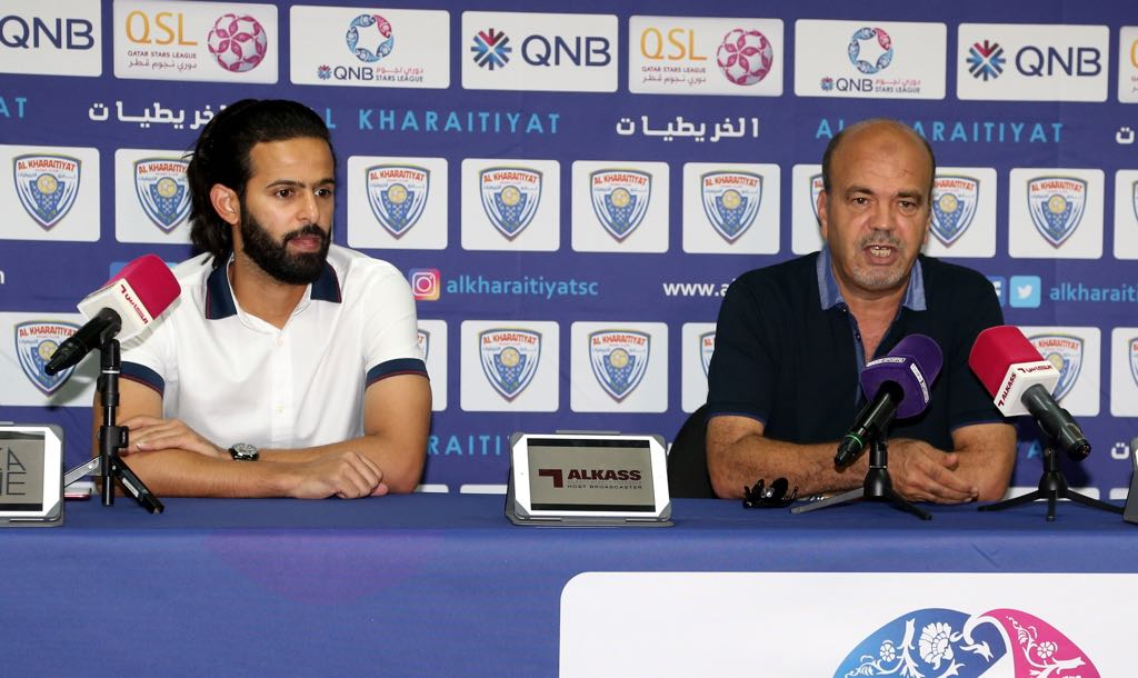 Pre Match Press Conference- Al Kharaitiyat Vs Al Rayyan