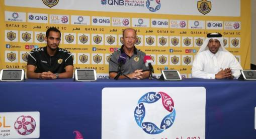 Pre Match Press Conference Qatar SC Vs Markhiya