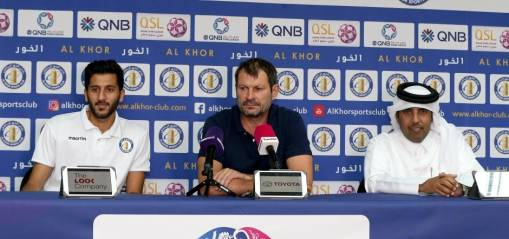 Pre Match Press Conference- Al Khor Vs Al Ahli