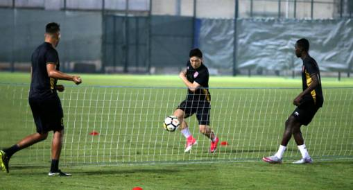 Al Duhail Continues Its Training For Al Khor