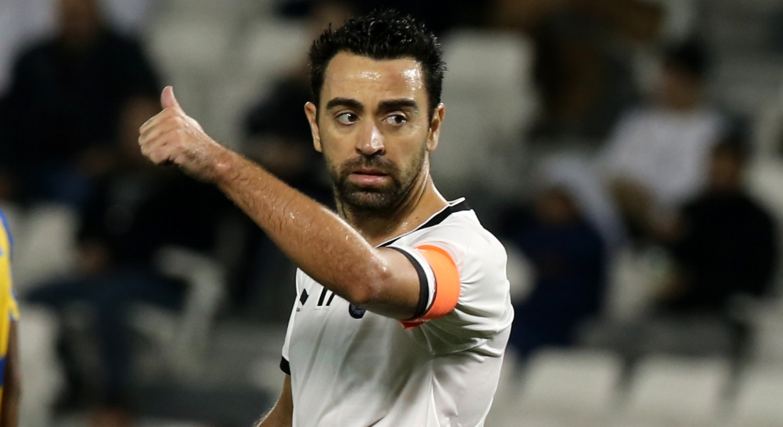 Xavi recovers from back injury