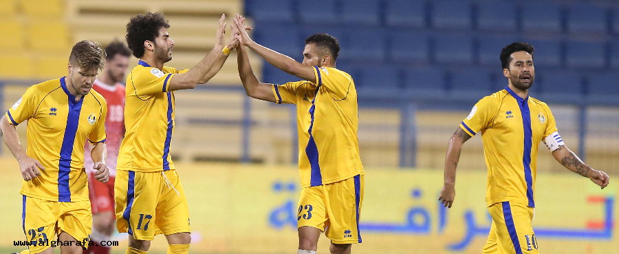 Important win, against Alarabi
