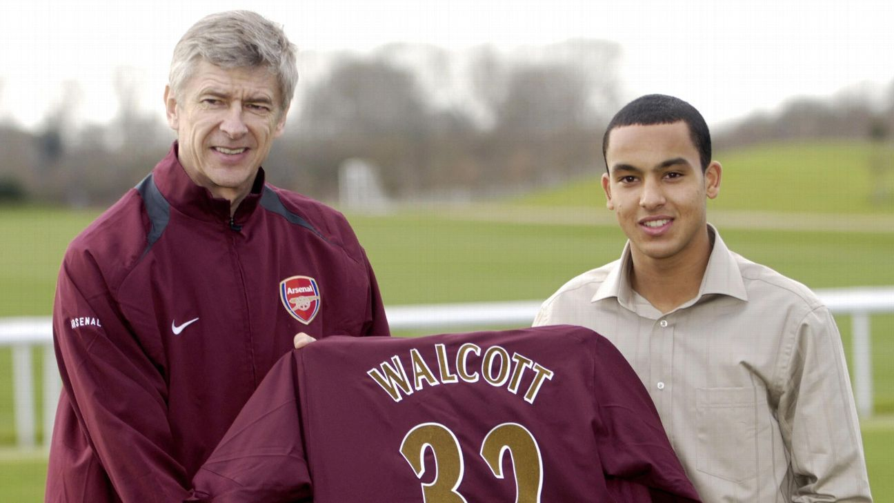 Theo Walcott had his moments but never had a chance to live up to the hype at Arsenal