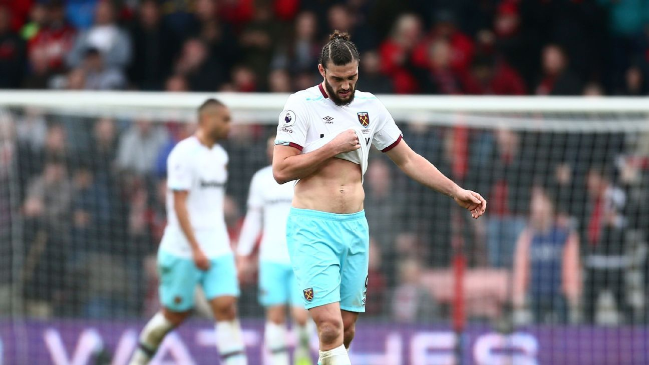 Andy Carroll may need surgery on ankle, Moyes confirms