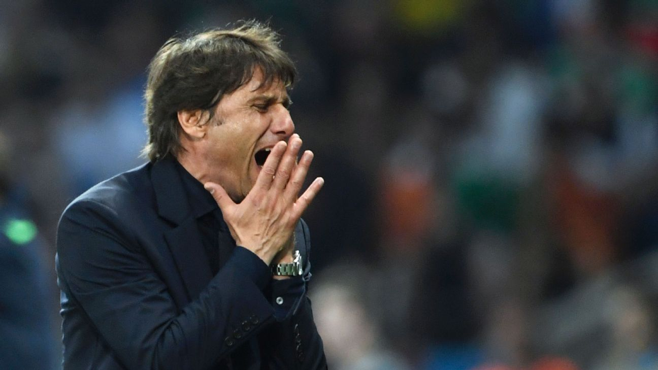 Antonio Conte: Siege mentality doesn't work for Chelsea