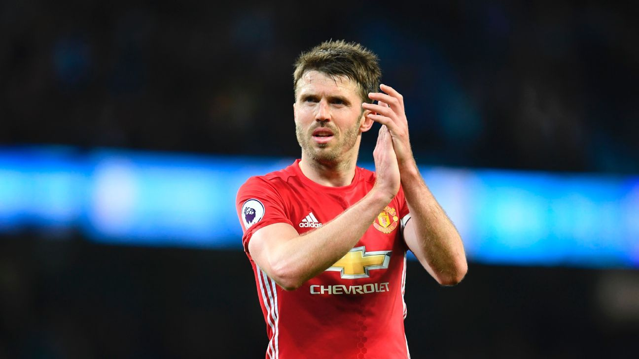 Carrick to assume coaching role at Man United after retirement - Mou