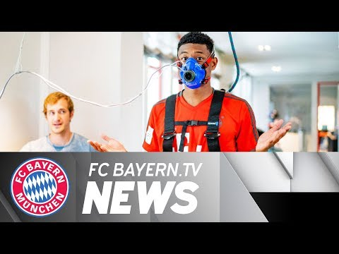 David Alaba is back - First Stop: Performance Test
