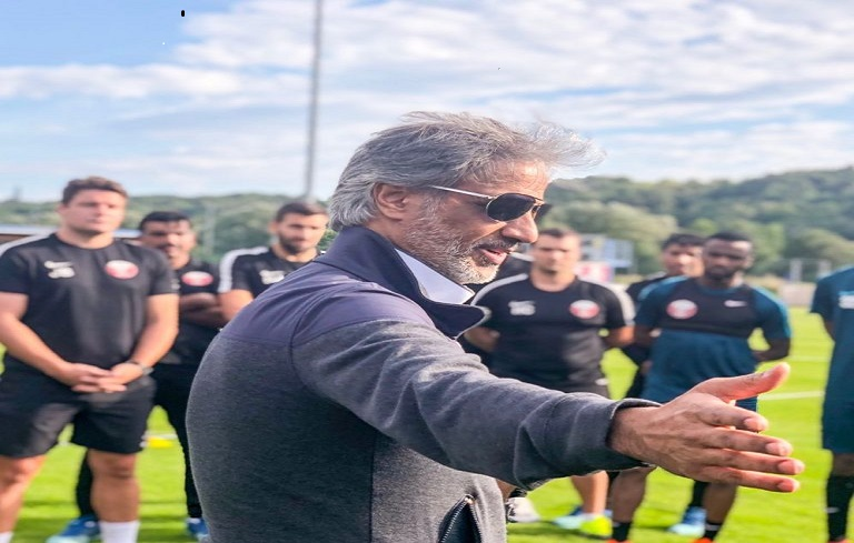 QFA President visits team's training session in Austria