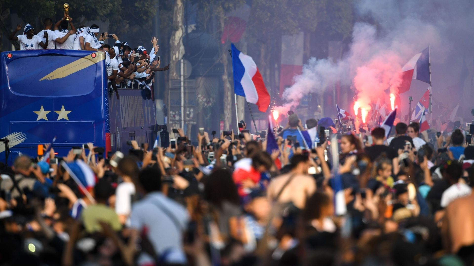 France celebrate World Cup: The story from streets of Paris