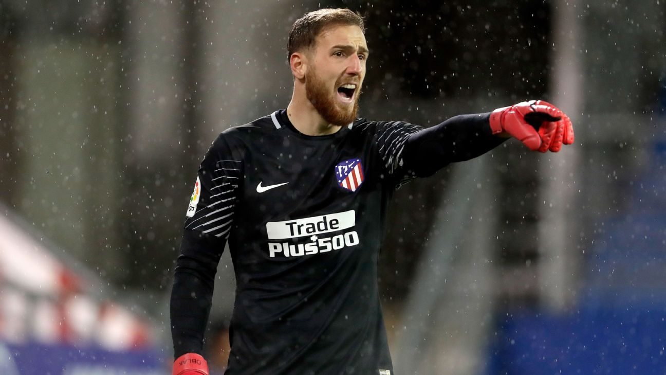 Atletico Madrid have Jan Oblak's future 'under control' - chief