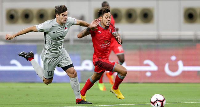 Al Duhail Tied With Al Rayyan