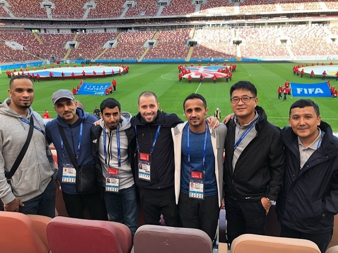 'Russia World Cup experience inspired me on the road to Qatar 2022' , Writes Ahmed Abbassi