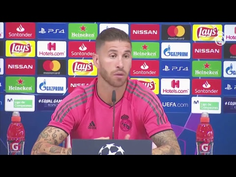 Lopetegui and Ramos' press conference before Real Madrid's Champions League match against Roma!