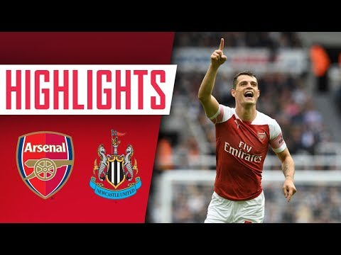 ???? Granit Xhaka scores a worldie! | Highlights: Newcastle 1-2 Arsenal
