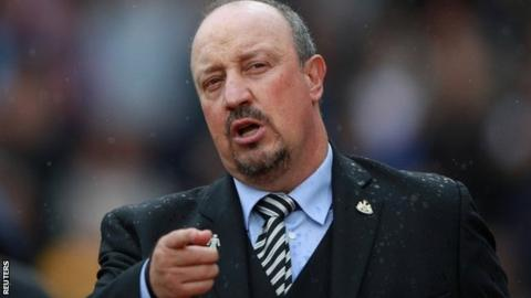 Newcastle United manager Rafael Benitez charged over referee comments