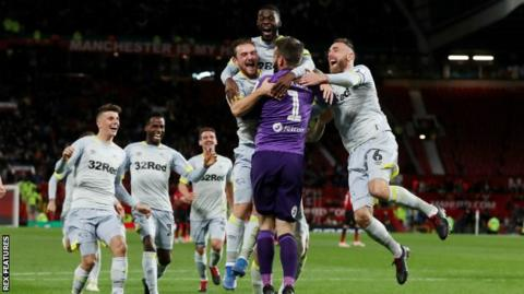 Lampard takes Derby to Chelsea in Carabao Cup