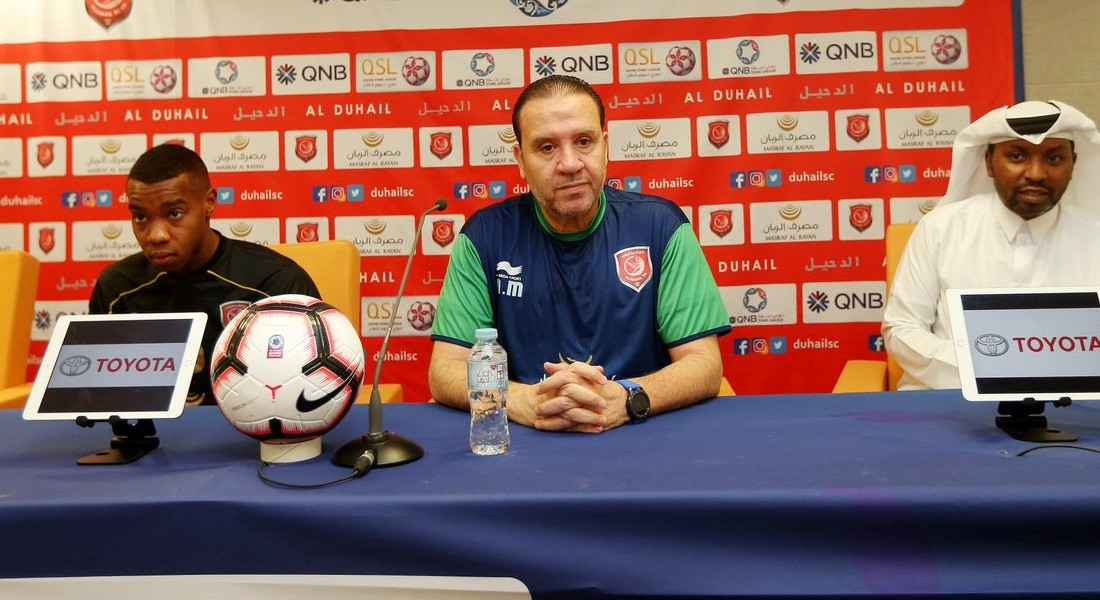 We will give off our best to beat Al Ahli: Al Duhail coach Maaloul