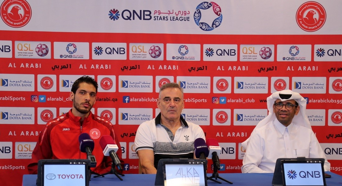 We are seeking a positive result: Al Arabi coach Bonacic