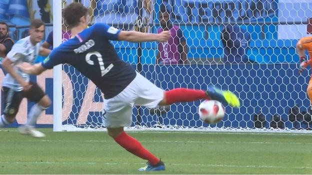 World Cup 2018 best goal: Benjamin Pavard wins Fifa vote