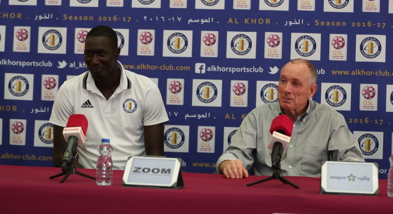 Round 19 Pre Match Press Conference- Lekhwiya Vs Al Khor