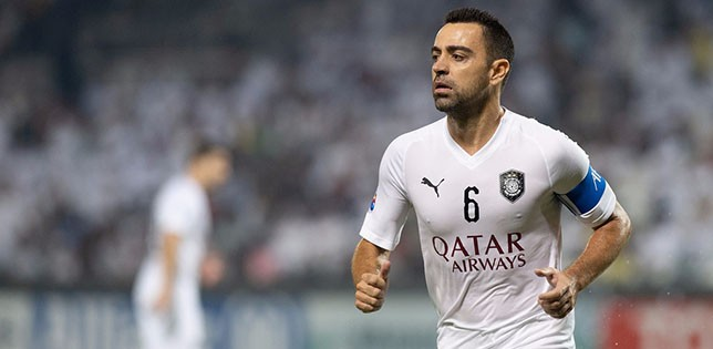 Xavi ruled out of Al Sailiya clash
