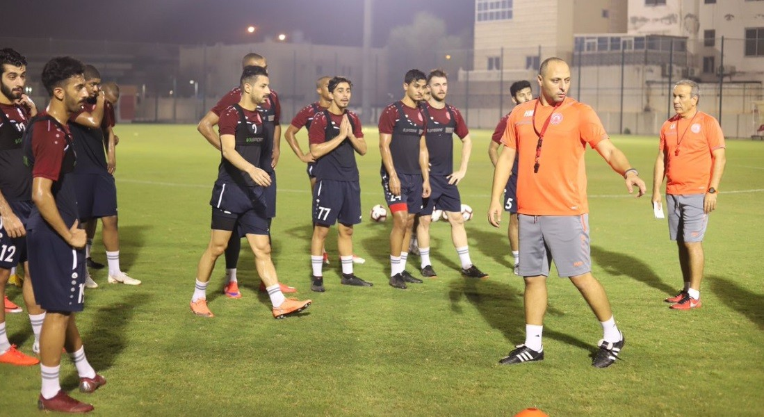 Al Arabi prepare for QSL Cup game under new coach Hatem