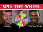 LeBron, Jordan or Kobe? Spin the Wheel with Holding & Maitland-Niles