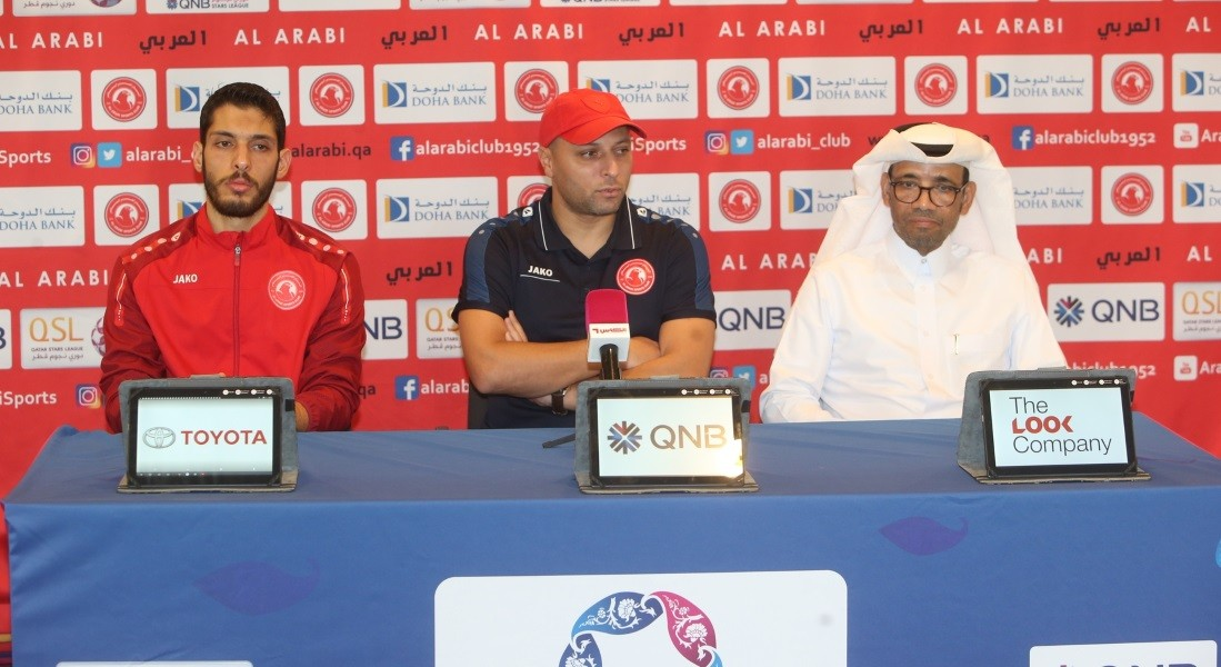 We must improve our position: Al Arabi coach Al Moaddeb