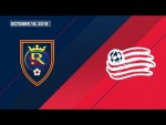 HIGHLIGHTS: Real Salt Lake vs. New England Revolution | October 18, 2018