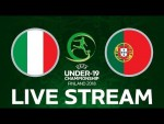 Italy vs. Portugal: UEFA Under-19 Championship FINAL