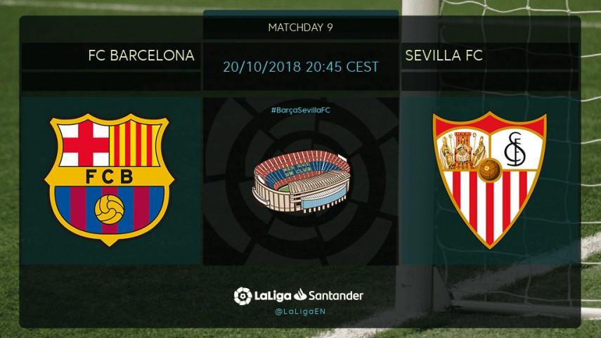 Winner takes all in Barça v Sevilla clash
