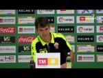 Rueda de prensa de Pacheta tras el Elche CF vs Málaga CF (2-0)