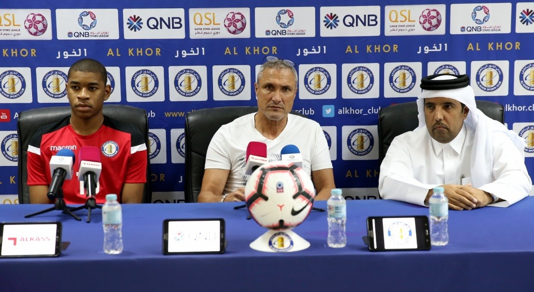 We seek a positive result against Al Gharafa: Al Khor coach Casoni