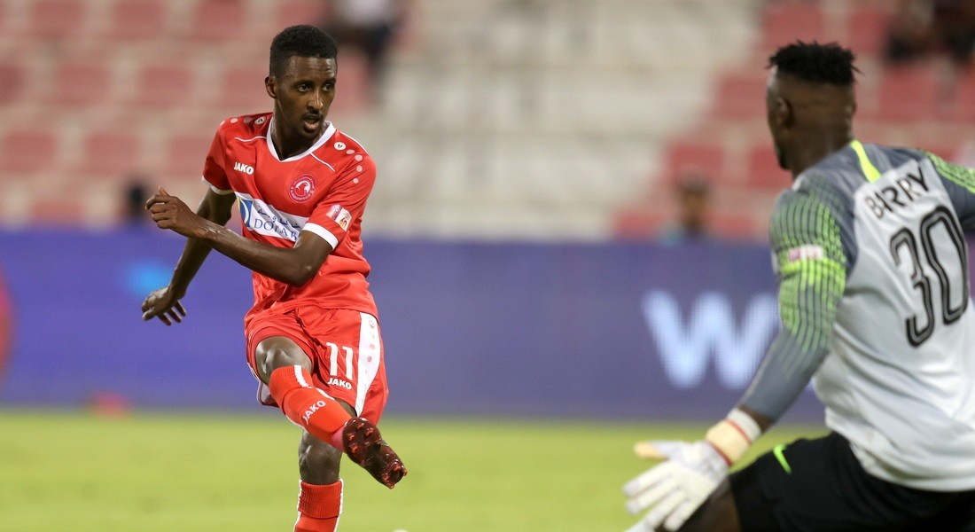 Al Arabi striker Mohammed Salah El Neel in an Exclusive Interview with QSL Online