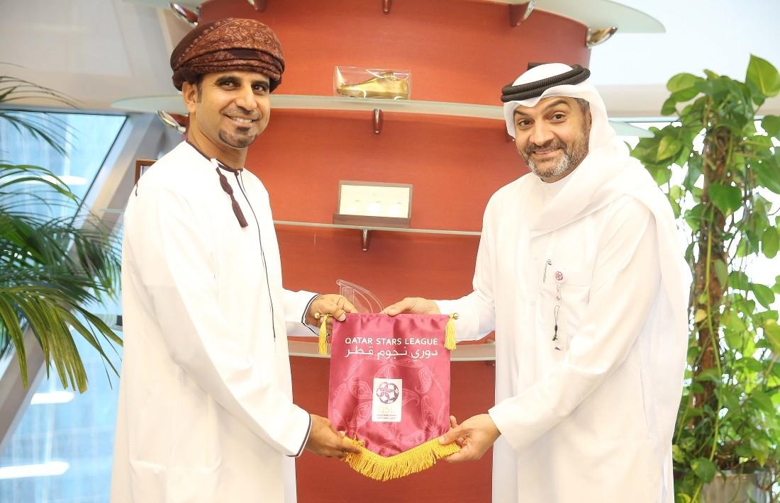 QSL CEO receives Oman Professional League top official