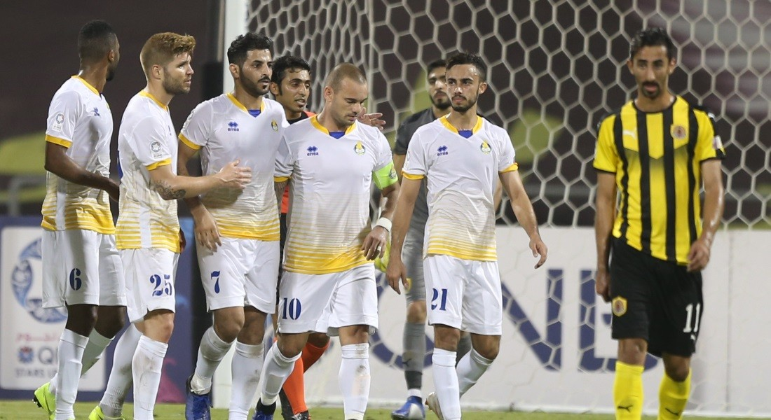 QNB Stars League Week 12 — Qatar SC 0 Al Gharafa 2