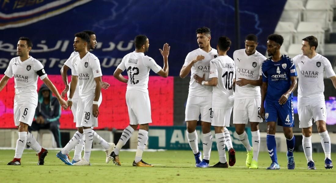 QNB Stars League Week 12 — Al Sadd 7 Al Kharaitiyat 1