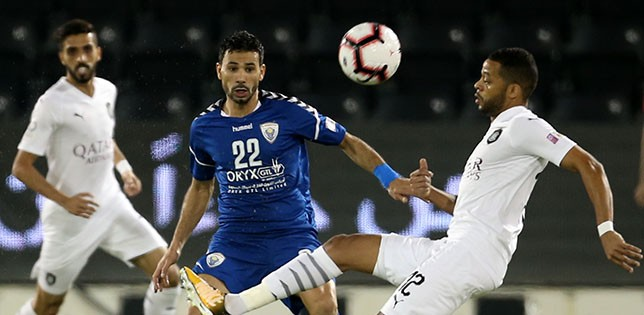 QNB Stars League: Bounedjah hat-trick powers Al-Sadd to 7-1 win over Al-Kharaitiyat
