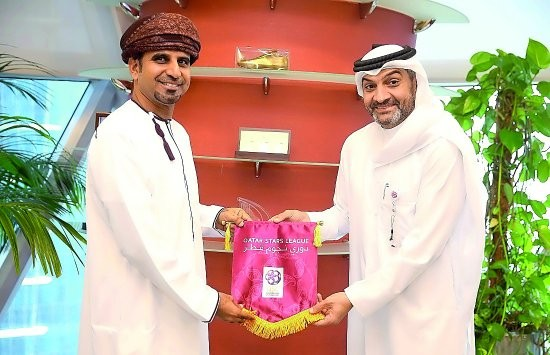 QSL chief discusses football ties with top OPL official