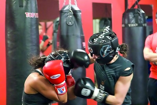 Aspire Zone hosts Canada's women boxing team camp