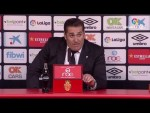 Rueda de prensa de José Ramón Sandoval tras el RCD Mallorca vs Córdoba CF (3-0)