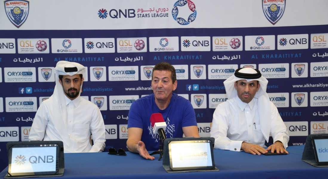 We need to beat Al Arabi in our bid to avoid relegation: Al Kharaitiyat fitness coach Badarudeen