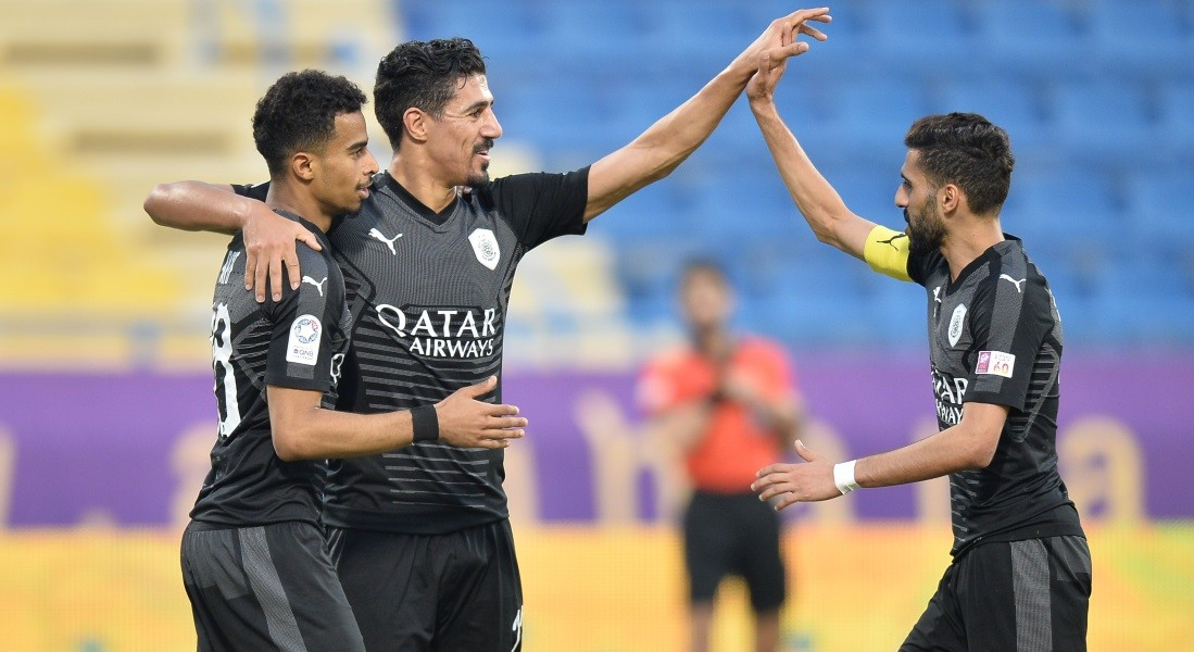 QNB Stars League Week 14 — Al Gharafa 1 Al Sadd 8