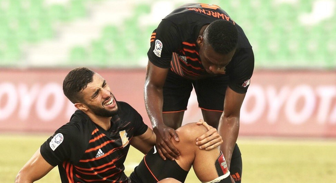 Umm Salal's Rhaili out for the season with cruciate ligament injury