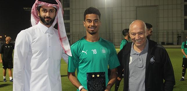 Al-Sadd resume training; Akram named as best player for November