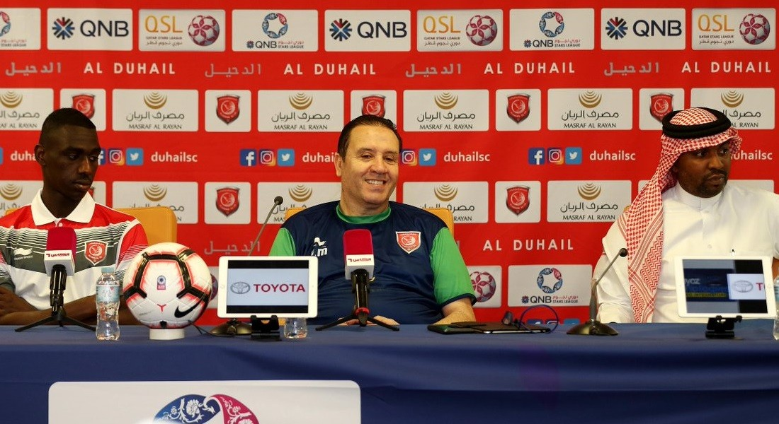 Nothing less than victory will satisfy us: Al Duhail coach Maaloul