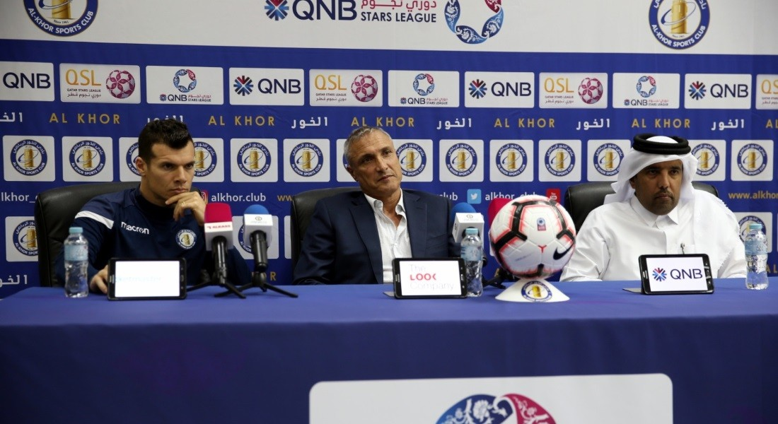 We've the desire to win: Al Khor coach Casoni