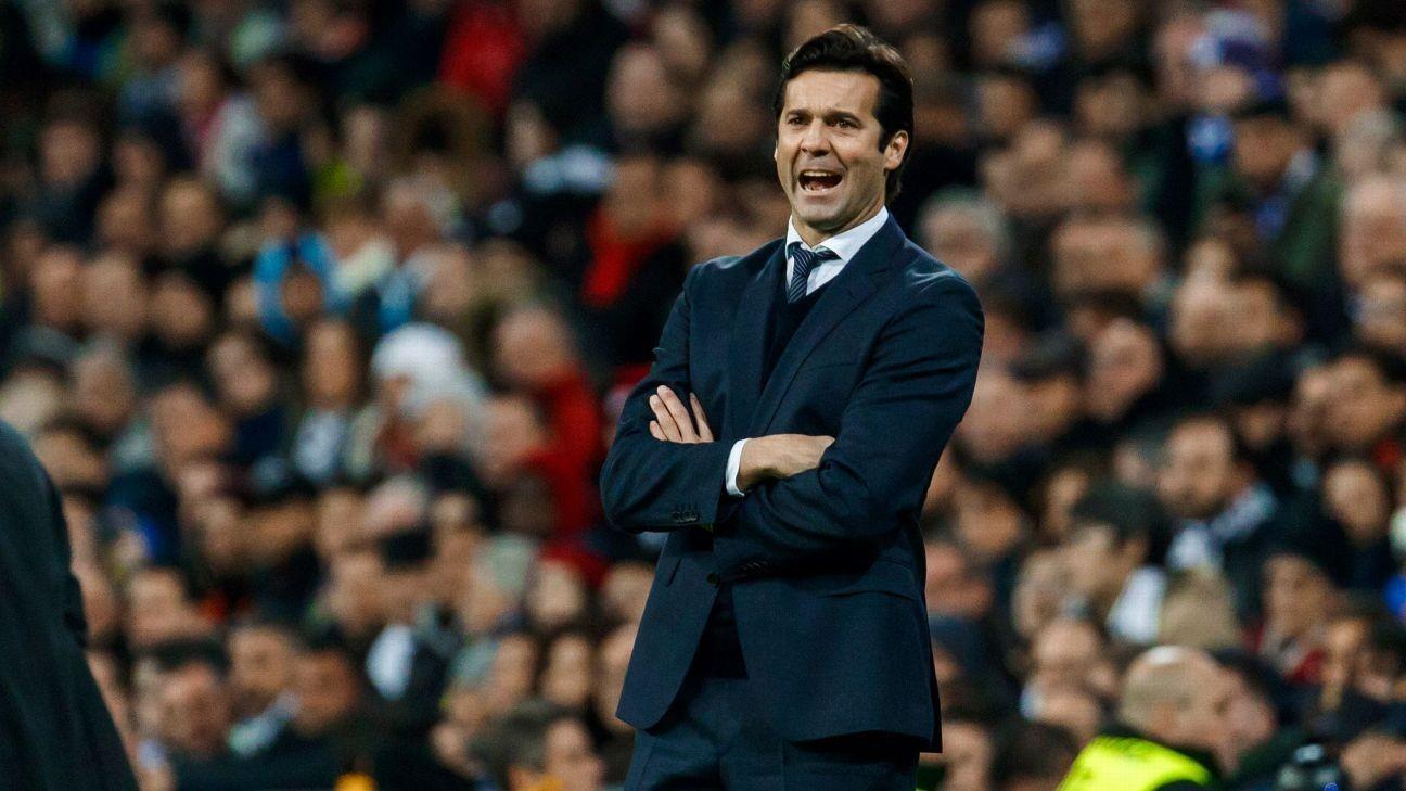 Real Madrid coach Santi Solari talks up La Liga challenge after Huesca victory