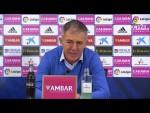 Rueda de prensa de Lucas Alcaraz tras el Real Zaragoza vs Córdoba CF (0-0)