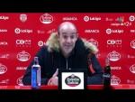 Rueda de prensa de Alberto Jiménez Monteagudo tras el CD Lugo vs UD Las Palmas
